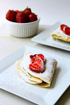 14 Très Chic Recipes to Celebrate like a French Girl for Bastille Day. July 14 is known around the world as Bastille Day, a French holiday commemorating the beginning of the French revolution. It was a time of political turmoil and . Nutella Crepes, Bastille Day, Sweet Breakfast, Breakfast Ideas, Strawberries And Cream, Holiday Desserts, Cakes And More, Sweet Recipes, French Recipes