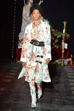 Fausto Puglisi Milan Spring/Summer 2017 Ready-To-Wear Collection | British Vogue