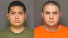 !! FRANK FELIX (left), of Sun Valley, CA, and JOSH ACOSTA (right), of Fort Irwin, CA, have been arrested in the murders of three people in Fullerton, CA. ~ These worthless maggot bastards MURDERED a girls family for her because her family didn't want her dating one of these POS! Rot in prison you a!!holes, and die in your own retched scumbag filth before you visit the devil in the hereafter. Your lives are about to become hell on earth, deservedly so! !!