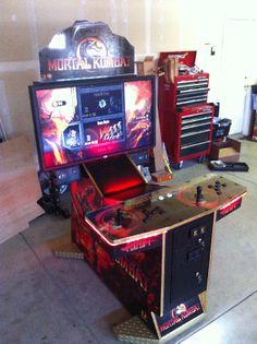 Mortal Kombat 9 Arcade Machine Cabinet
