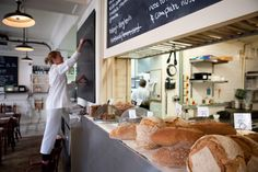 One of my favourite eateries in London. RB.  London: St. John Bread and Wine shot by James Champlon