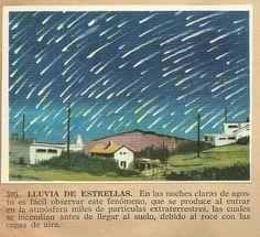 Album Historia Natural 1968  505 Lluvia de estrellas