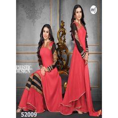 Rozdeal Unique Designer Peach Salwar Kameez