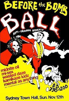 Midnight Oil: MIDNIGHT OIL - 12 Nov 1978 - «Before The Bomb Ball...