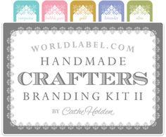 Handmade Crafter Label Branding Kit Set Two