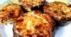Μελιτζάνες και ψημένες στον φούρνο πατάτες, σε λαδόκολλα, σαν πιτσάκια!!!  Υλικα 3 μεγάλες μελιτζάνες φλάσκες 2-3 πατάτες μέτριες Σάλτσα ... Cookbook Recipes, Cooking Recipes, Appetisers, Quiche, Cauliflower, Food And Drink, Vegetables, Breakfast, Ethnic Recipes