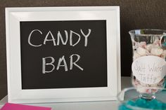 candy bar (bridal shower)