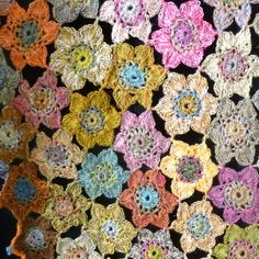 Grande écharpe/étole créations Sophie Digard crochet