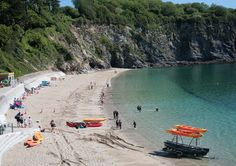 Porthpean Beach, St Austell - Cornwall Guide Photos
