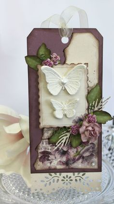 Purple tag - Scrapbook.com***Altho this pin is not of my work ....PLEASE visit my Gallery at:  rose-santucisofranko.artistwebsites.com .... and my store at:    http://www.zazzle.com/artists4god?rf=238686044861169565