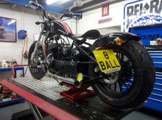AJS Bobber 125 cc low ride chop Motorbike 125 cc bike custom cruiser motorcycle