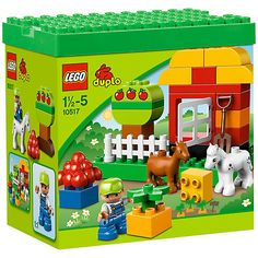 LEGO DUPLO bricks are twice the size of ordinary LEGO bricks, making them perfect for small hands and growing imaginations. Explore our range of LEGO Duplo sets and figures. Lego Duplo Sets, Duplo Box, Toys R Us, Toddler Toys, Kids Toys, Toddler Stuff, Kid Stuff, 1st Birthday Presents, 4th Birthday