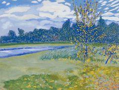 Léon Spilliaert - Het Bosje te Oostende (1922) (DV160 - 205)