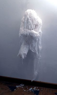 Increadible Lifelike Sculptures Made from Discarded Plastic Bags