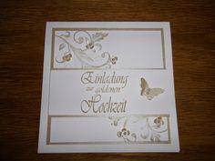 Juttas Bastelecke - das Kartenparadies: Goldene Hochzeit