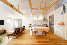 無垢フローリングで作られた家 ・間取り|ローコスト・低価格住宅 | 注文住宅なら建築設計事務所 フリーダムアーキテクツデザイン