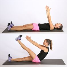 This short workout works the lower abs and will leave them burning. And you can…