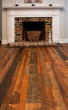 Old floor boards; LOVE!