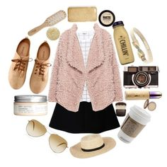 """""""mexico"""" by teresapulido ❤ liked on Polyvore featuring RED Valentino, Monki, Zara, H&M, Philip Kingsley, CO, Oliver Peoples, Thread Social, Joie and J.Crew"""