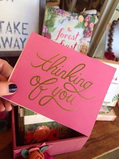 Thinking Of You $4.50