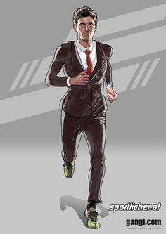Running Guy by valadorf on DeviantArt Social Community, Deviantart, Running, Guys, Illustration, Artist, People, Fictional Characters, Keep Running