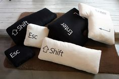 Keyboard cushions! The programmer in me wants these <3