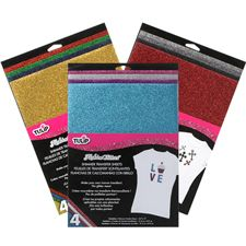 How to Tulip® Fashion Glitter® Shimmer Transfer Sheets
