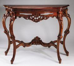 "~ Rococo Revival style console table 46.1"" ~ | invaluable.com/auction"