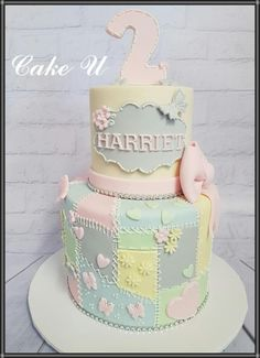Patchwork Cake - Cake by Veronica