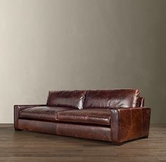 So there's this couch. And I love it. Every time my mother went into Restoration Hardware, my guilty pleasure was sneaking onto that couch. It will be the first piece of furniture that I will buy for my place. I'll save up until I can afford that baby and sleep on it until can afford a bed.
