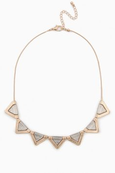 Point to Point Necklace $29