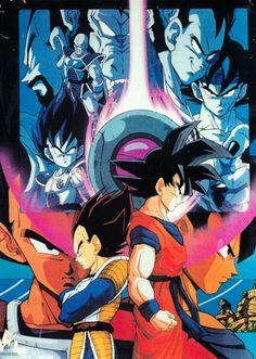 Vegeta and Goku: last of the Saiyan race.