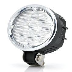 Waterproof Cree LED Work Light For Vehicle, Engineering, Farming (27W, 1900 Lumens, White)