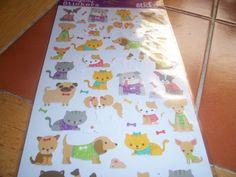 Kitten & Puppy Stickers