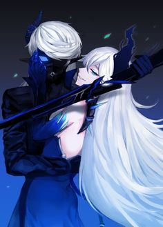 Image de lu, elsword, and ciel