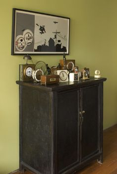Kitchen Clock Design Ideas, Pictures, Remodel, and Decor; anytime you can make it a collectible, gotta love it.