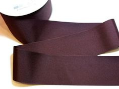 Wide Brown Ribbon Brown Grosgrain Ribbon 3 inches wide x 3