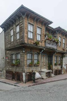 Best Old İstanbul images in 2020 Istanbul Travel, Dark City, Architectural Features, Ottoman Empire, Old Barns, City Art, Art And Architecture, Cool Places To Visit, Old Houses