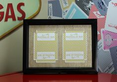 Mandalay Bay Las Vegas 5x7 No Exposure Authentic Playiong Card Display by SinCityDisplays on Etsy