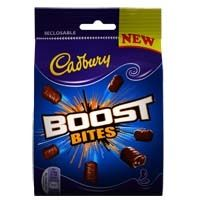 Cadbury Boost Bites Cadbury World, Chocolate Packaging, Give It To Me, Sweets, Candy, Eat, Desserts, Food, Tailgate Desserts