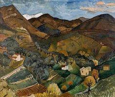 Landscape, Vence - Christopher Wood - The Athenaeum