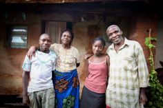 This family experiences much less sickness thanks for a bio-sand filter in their home.  A bio-sand filter costs $85 US, purifies dirty water through a natural filtering process, and lasts for 20 years.