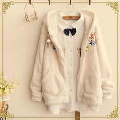 Buy 'Fairyland – Flower Embroidered Fleece Hood Jacket' with Free International Shipping at YesStyle.com. Browse and shop for thousands of Asian fashion items from China and more!