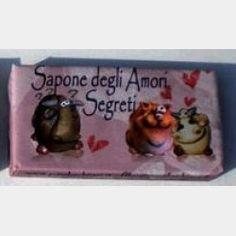 Sapone - Amori Segreti - I Cupido - Trucco Natura - Negozio di Cosmetici e Trucchi Minerali Online - In vendita su: http://www.trucconatura.com Disponibile: € 4,50
