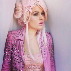 Pink studded jacket x | clothes♥ | Pinterest | Pink Studded