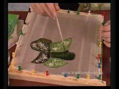 Maľovanie na hodváb - Painting on silk - YouTube
