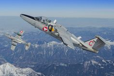 Two Saab 105 in flight. Royal Australian Air Force, Fighter Jets, Aircraft, Lady, Pilots, Planes, Aviation, Airplane, Airplanes