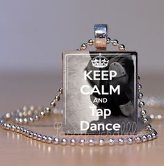 Keep Calm and Tap Dance as an ornament