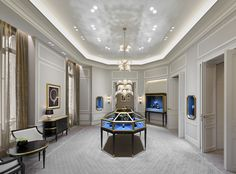 Les salons Harry Winston du 29 Avenue Montaigne