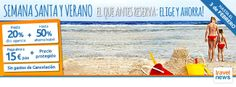 Una nueva manera de viajar : CAMPAÑA SEMANA SANTA Y VERANO 2014  www.viajesviaverde.es